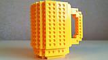 Кружка Lego брендовий 350мл Yellow, фото 3