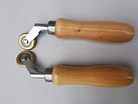 Прикаточный ролик латунный для сварки ПВХ 6-28мм мм Leister Herz, фото 1