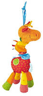 Sigikid Іграшка-брязкальце - Жираф, 24 см