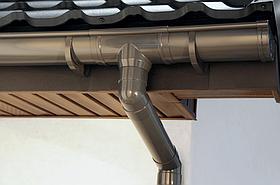 Водостічна система ПВХ BudMat ProAqua 125/90 з можливістю швидкого встановлення