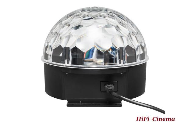 M-Light LB-004 crystal disco ball - rear view
