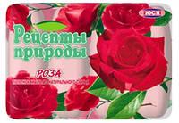 """Мило """"Рецепти природи"""" екопак 4*75г Троянда/-308/24"""