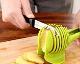 Слайсер для нарезки помидора, лимона, лука, фото 4
