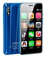 "Смартфон Tkexun S18 (Satrend S18) 2/16Gb Blue, 13/8Мп, 3.22"" IPS, 2SIM, IP68, 4G, 3000мА, MT6739"