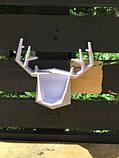 Настенный держатель для аксессуаров Deer White, фото 3