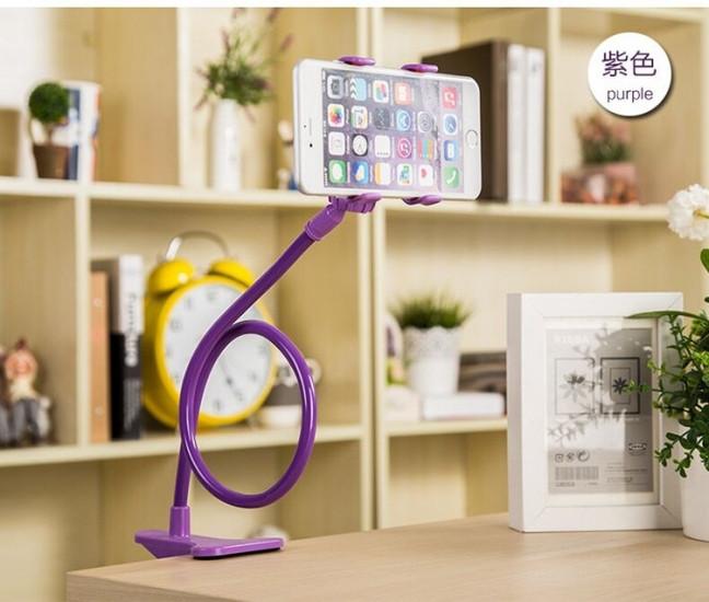 Подставка для телефона с вращающейся 360 Фиолетовый