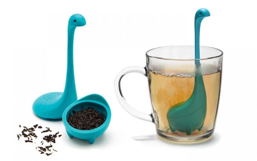 Заварник для чая Несси голубой