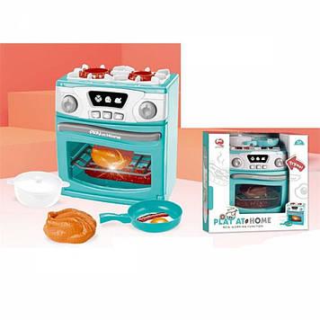 Плита: посуд,звук,світ.,на бат-ці,в кор-ці,29х27,5х13,5см №QF26131G(9)