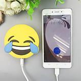 Универсальная портативная батарея Power Bank emoji Crying Laughing, фото 2