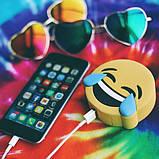 Универсальная портативная батарея Power Bank emoji Crying Laughing, фото 3