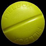 Контейнер для таблеток на 4 відділення зелений, фото 3