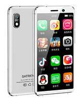 """Смартфон Tkexun S18 (Satrend S18) 2/16Gb White, 13/8Мп, 3.22"""" IPS, 2SIM, IP68, 4G, 3000мА, MT6739"""