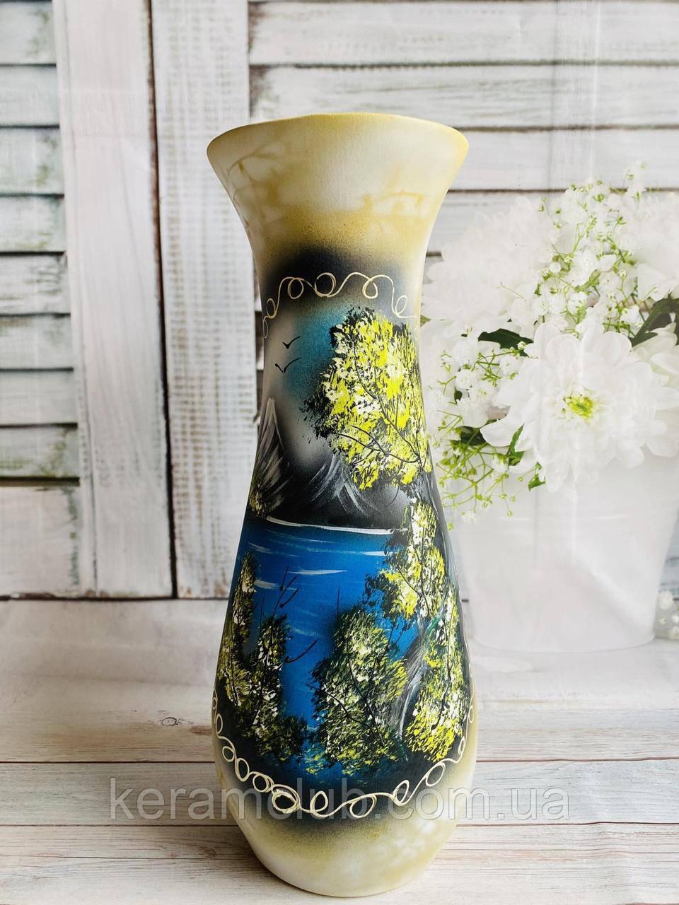 Напольная ваза Фло  h 58 см