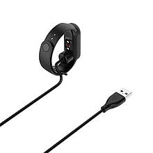 Зарядный кабель для Mi Band 5 магнитный 50см черный 1547701, КОД: 1895982