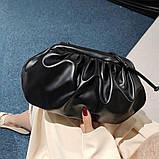 Модная женская сумка клатч черная код 3-472, фото 2