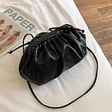 Модная женская сумка клатч черная код 3-472, фото 3
