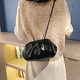 Модная женская сумка клатч черная код 3-472, фото 4