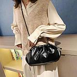 Модная женская сумка клатч черная код 3-472, фото 6