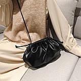 Модная женская сумка клатч черная код 3-472, фото 7