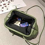 Модная женская сумка клатч черная код 3-472, фото 9