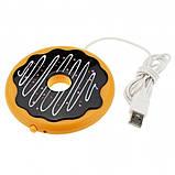 USB підігрів чашки Пончик, фото 3