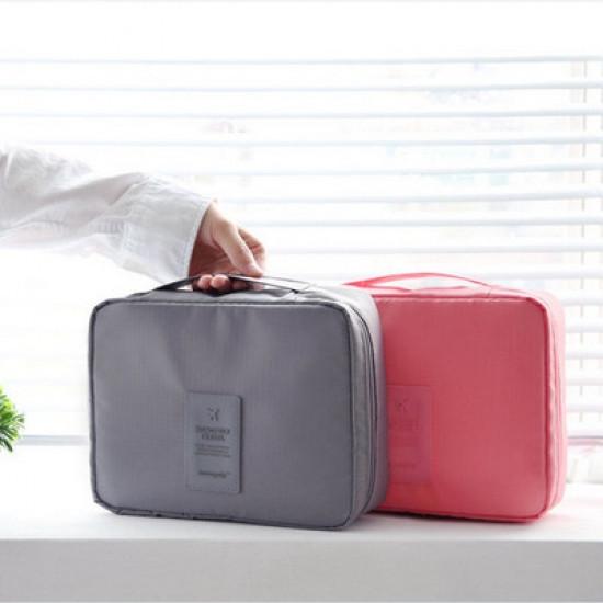Органайзер для белья и косметики Liguo travel grey