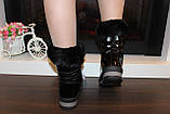 Сапоги дутики черные зимние женские С965, фото 5
