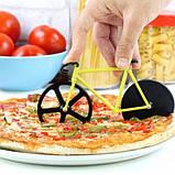 Нож для пиццы Велосипед желтый, фото 2