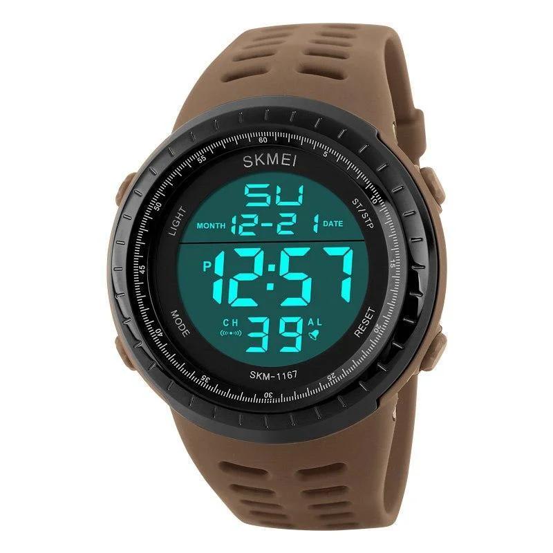 Cпортивные мужские часы Skmei(Скмей) 1167 Tactic Khak