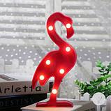 Светильник 3D Фламинго, фото 4