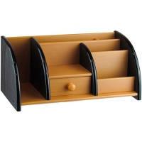 Органайзер, підставка офісна, для канцтоварів дерево № XD-5051
