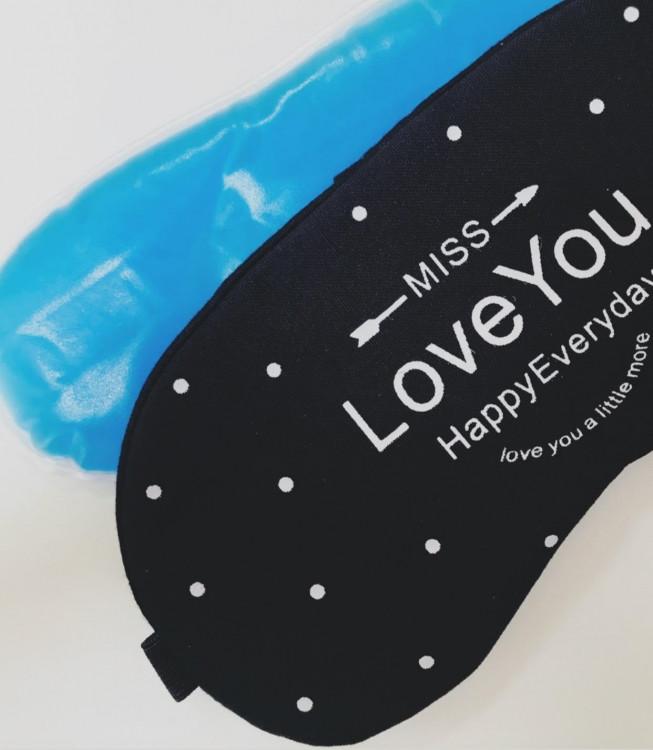 Маска для сна Love You