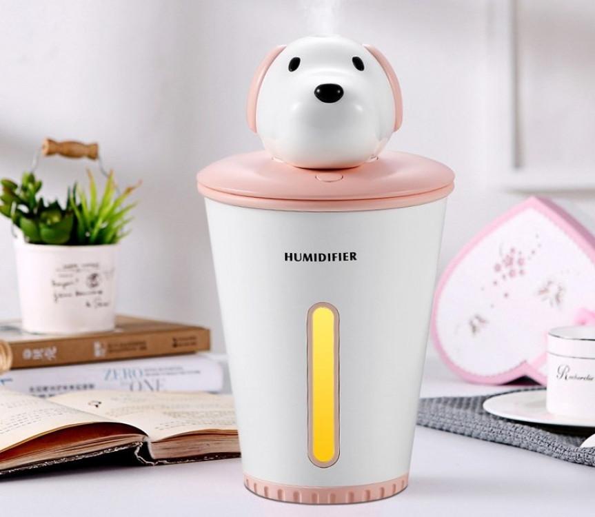 Зволожувач повітря humidifier Puppy Pink