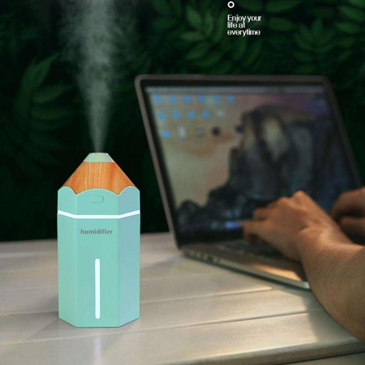 Мини увлажнитель воздуха Pencil humidifier Blue