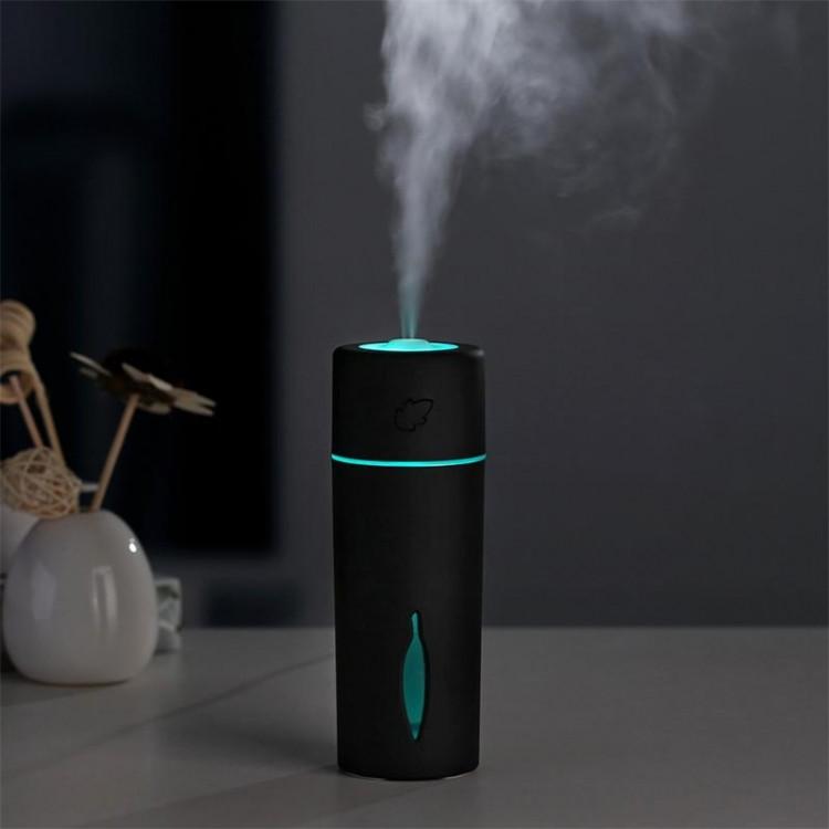 Мини увлажнитель воздуха Листик humidifier Black