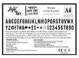Интерьерный лайтбокс с буквами (А4 90 букв), фото 8