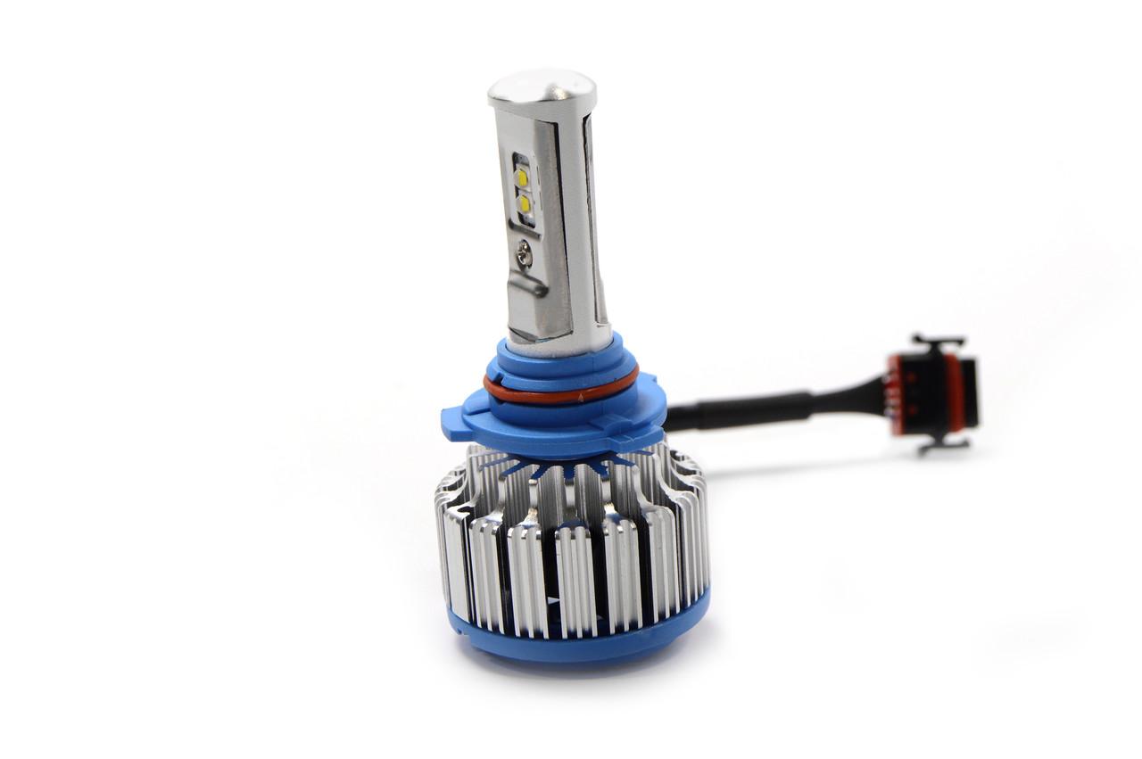 Автомобильные светодиодные лампы LED T1 HB4 с охлаждением и влагозащитой + ПОДАРОК!