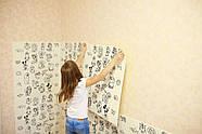 Детская 3D панель самоклейка под кирпич Разукрашка 700x770x5мм, фото 3