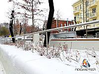 Огорожі без заповнення з нержавіючої сталі для алей, парків і скверів, фото 1