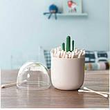 Контейнер для ватных палочек Кактус, фото 2