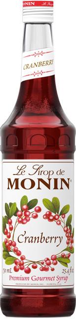 Сироп для кави MONIN Журавлина 0,7 л