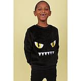 Флісовий джемпер світшот для хлопчика H&M на зріст 98-104 см (на 2-4 роки), фото 2