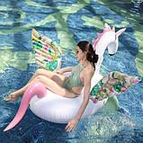 Надувная платформа-матрас Единорог Candy Horse 200см, фото 3
