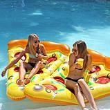 Надувной матрас Пицца 183см, фото 2