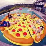 Надувной матрас Пицца 183см, фото 3
