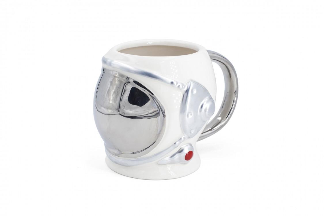 Кружка керамічна Космонавт 3D