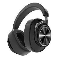 Беспроводные Bluetooth наушники Bluedio T6S с датчиками снятия (Черный)