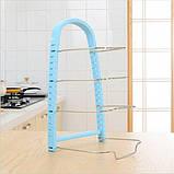 Подставка для сковородок, крышек, тарелок, кастрюль (Голубой), фото 2