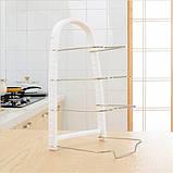 Подставка для сковородок, крышек, тарелок, кастрюль (Белый), фото 2