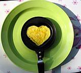 Мини сковородка Сердце, фото 2